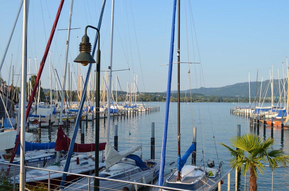 Lindau marina (300m away)