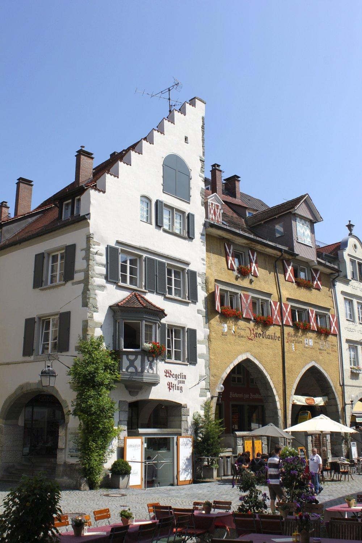 Lindau, old town