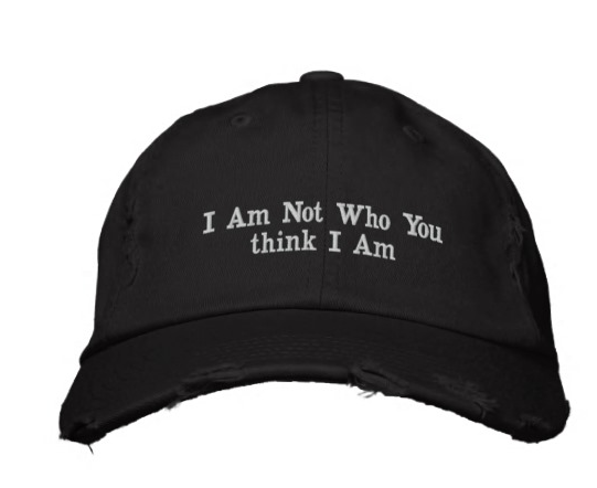 Caps - Embroidered Baseball Cap BlackI am not who you think I am.Colors: in black, red, pink$24 to $28