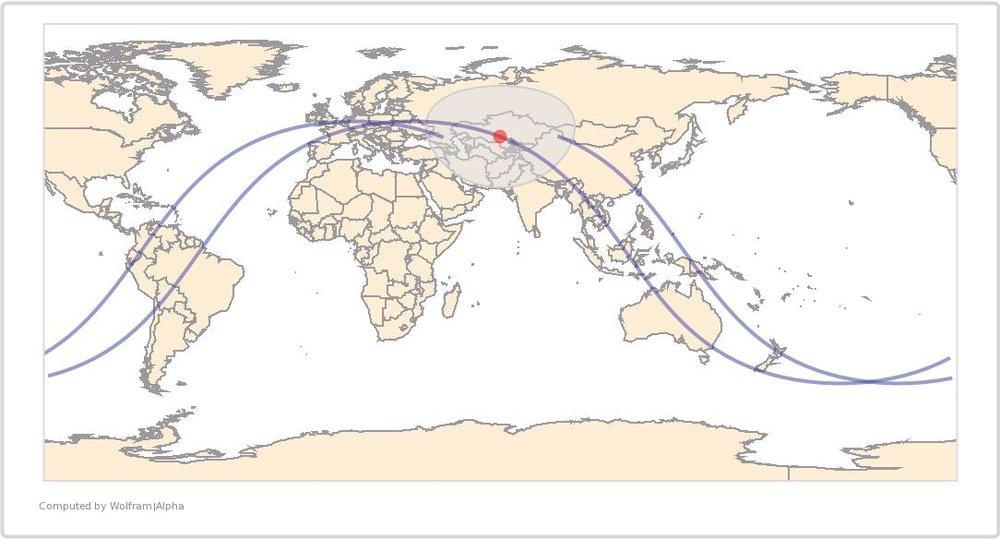 Image Timestamp:2016-06-25 10:51:58AM UTC ISS Nadir position:45.59°N, 66.39°E (Kazakhstan) Image Geolocation:45.97°N 63.31°E (Kazakhstan)
