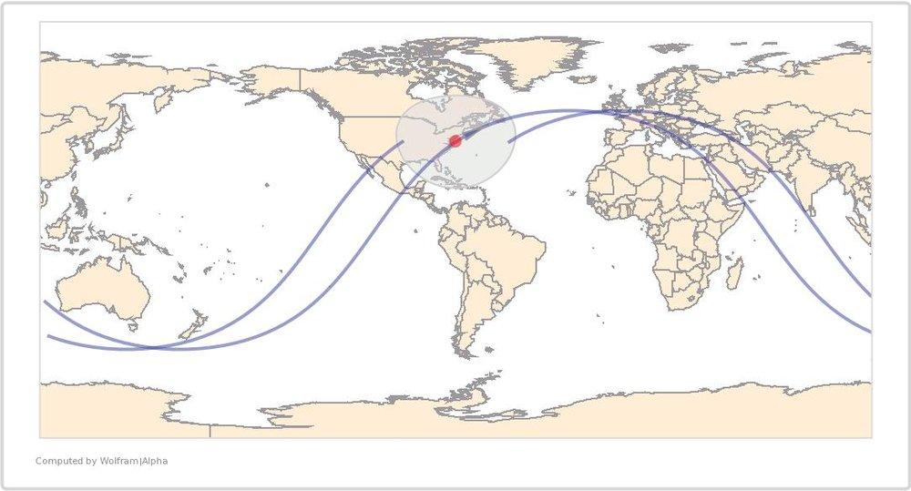 Image Timestamp:2016-04-16 18:10:18 UTC ISS Nadir position:38.12°N, 73.69°W (Atlantic Ocean) Image Geolocation:38.9°N, 77.1°W (Washington D.C.)