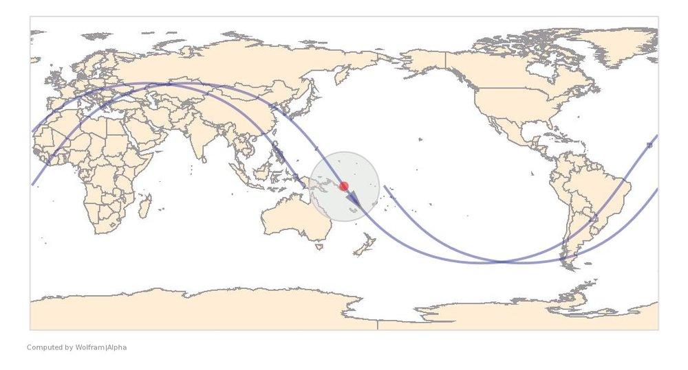 Image Timestamp:2015-11-21 22:53:57 UTC ISS Nadir position:7.647°S, 161.1°E (ocean) Image Geolocation:9.44°S, 160.04°E (Guadalcanal)