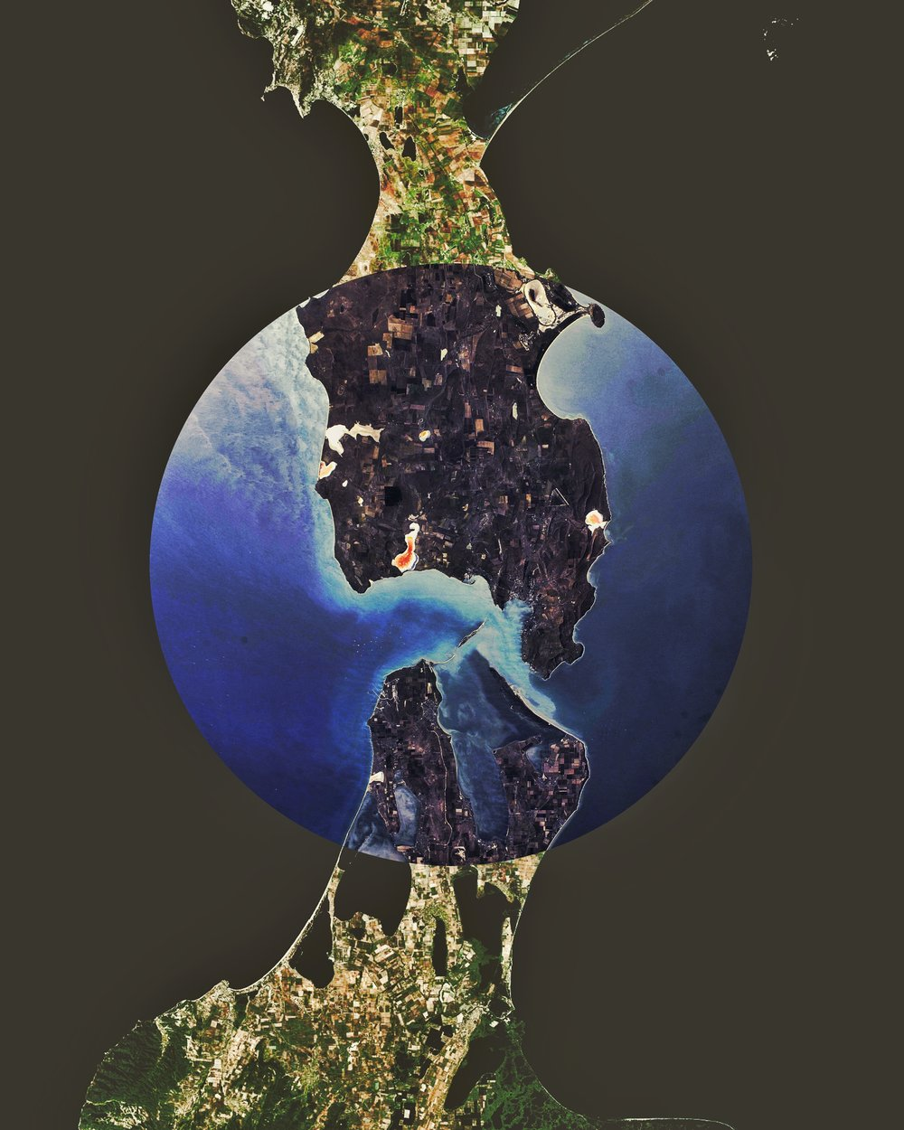 Kerch Strait : Crimean & Taman Peninsulas : INSTAGRAM Version