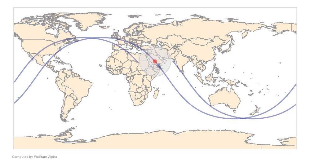 Image Timestamp:2008-12-29 07:50:42 UTC ISS Nadir position:21.17°N, 45.46°E (Saudi Arabia) Image Geolocation:19.613°N, 45.123°E (Saudi Arabia)
