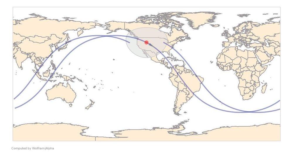 Image Timestamp:2014-03-12 19:32:55 UTC ISS Nadir position:42.24°N, 111.2°W (Utah) Image Geolocation:41.268°N, 112.345°W (Great Salt Lake)