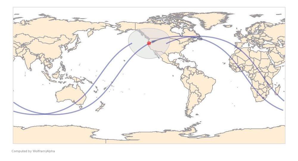 Image Timestamp:2016-06-19 20:24:49 UTC ISS Nadir position:42.17°N, 122.7°W (Oregon) Image Geolocation:42.938°N, 122.148°W (Oregon)