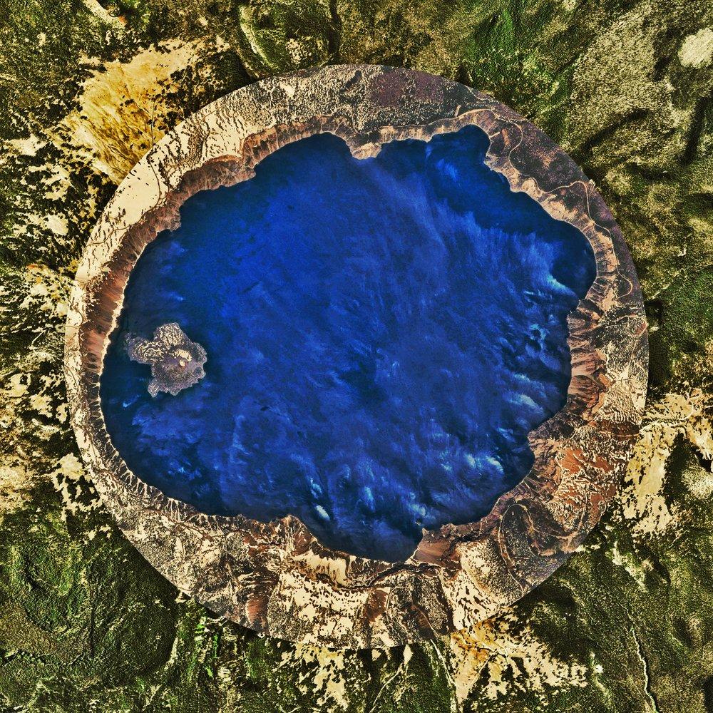 Crater Lake : Oregon :INSTAGRAMVersion
