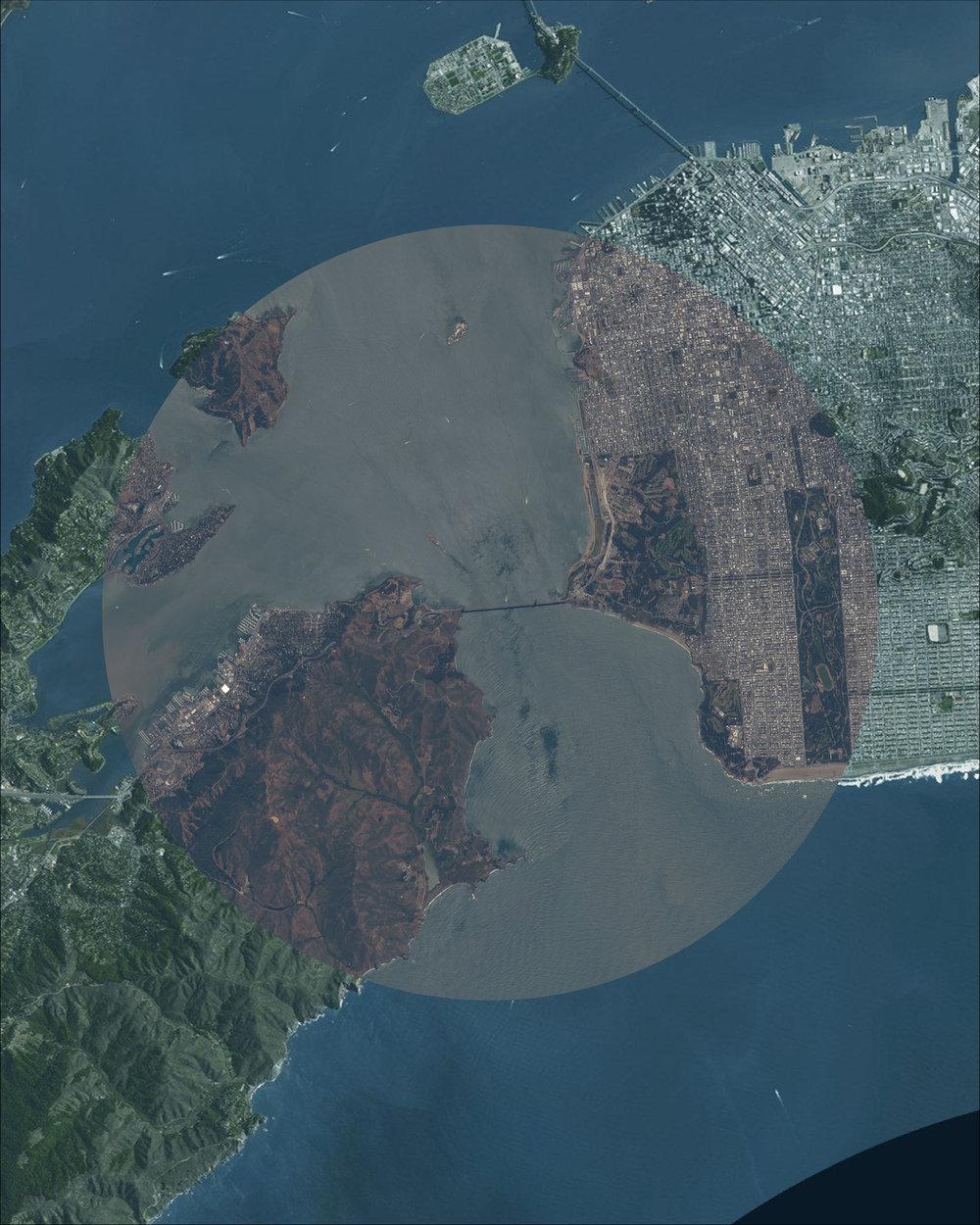 Raw Version of Orbital Intersection ISS Overlay & Satellite Basemap