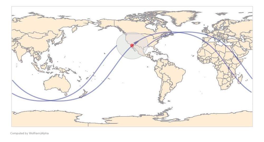 Image Timestamp:2017-04-14 19:54:49 UTC ISS Nadir position:31.15°N, 114.3°W (Mexico) Image Geolocation:32.834°N, 117.263°W (La Jolla)