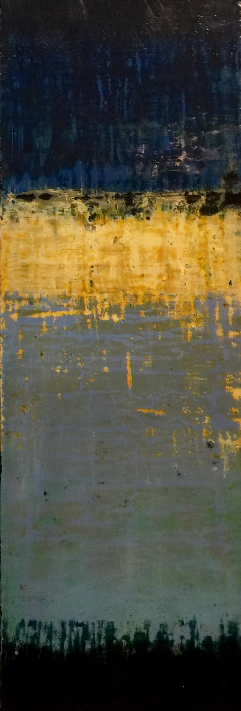 48x16 encaustic on birch panel