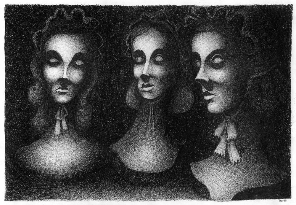 Artwork by Barney Bodoano
