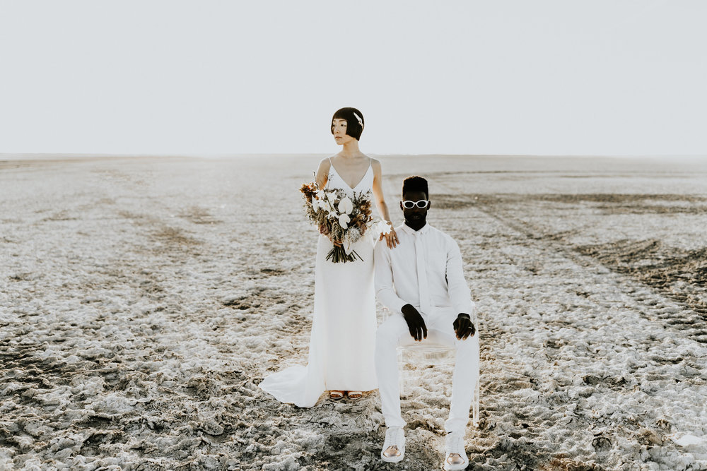 lunar wedding inspiration -