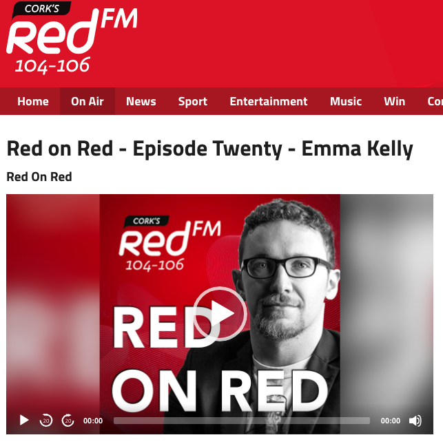 RED FM interview - Wednesday, June 6th, 2018 - 1 hour 11 minutesThis week on the podcast we're talking with Merakindie promoter, The Roundy (@roundybar) booker and one-third of the Signal gig collective, Emma Kelly (@emmamerakindie). Chats about booking gigs and tours, running venues & spaces, and what goes into making touring work for Cork artists. Tunes from The Altered Hours, Elaine Malone, Ghostking is Dead, and more! 01. Elaine Malone - You (@elai_malo) 02. Crevice - Anchorless (@creviceband) 03. Fixity - Hungry Clouds (@danwalshdrums) 04. The Altered Hours - Dig Early (@thealteredhours) 05. The Great Balloon Race - Did It On My Own (@thegreatballoon) 06. The Shaker Hymn - Sucking it Out (@theshakerhymn) 07. Ghostking is Dead - Fool (@deadroyalboi) 08. Automatic Blue - Happy House (@drewlinehan) 09. Shookrah - Woman (@shookrah)http://www.redfm.ie/on-air/podcasts/red-on-red/episode/red-on-red-episode-twenty-emma-kelly/