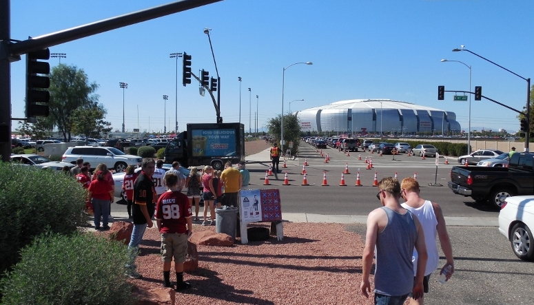 University of Phoenix Stadium - Mobile Advertising