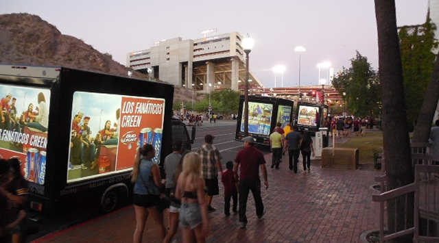 ASU Sun Devils - Mobile Advertising