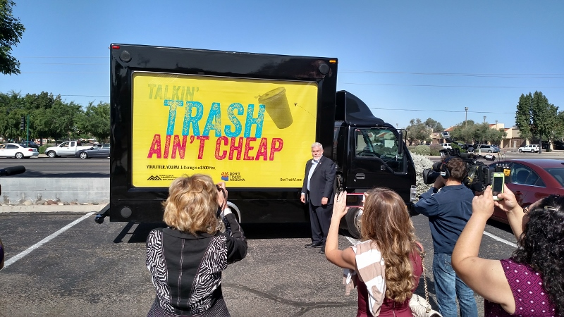 Mayor Jerry Weiers Don't Trash AZ