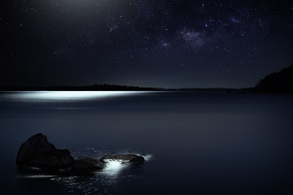 Moon over Singö