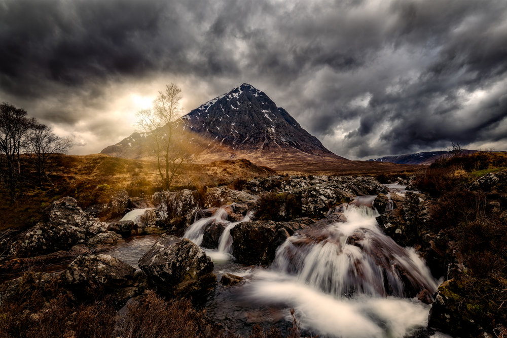 7. Buachaille Etive Mòr 1 -This iconic location gave us all the drama we could wish for on this april afternoon