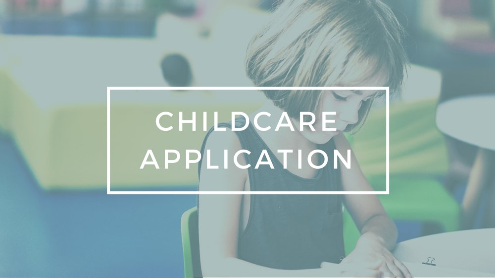 Child Care Application - Apply to help with childcare! Purpose: To provide dependable, safe and nurturing child care support, while parents attend Tuesday evening gatherings.