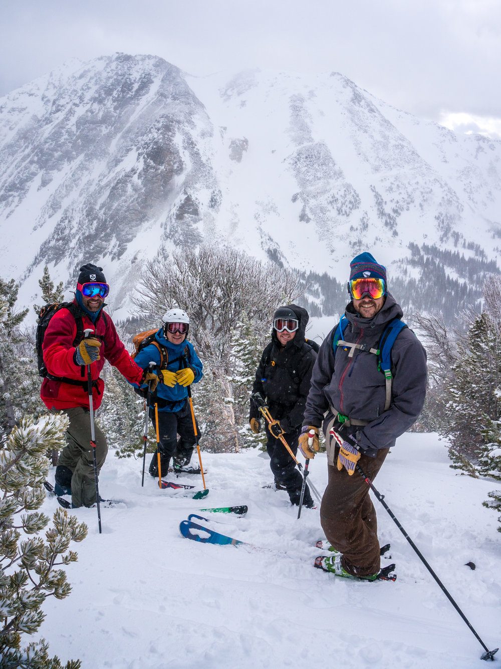 Yellowstone Park Backcountry Ski Guides