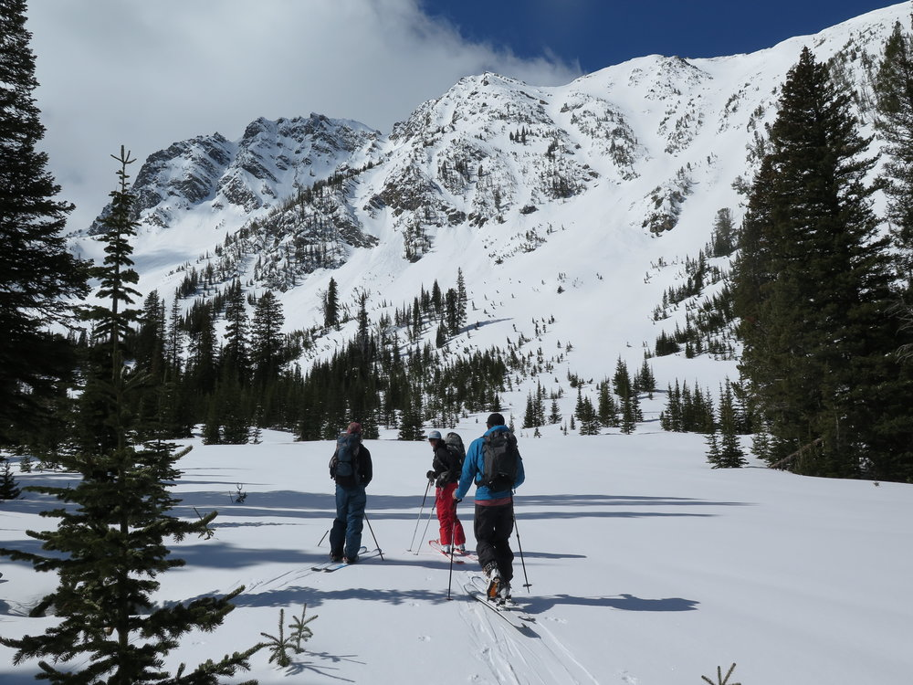 Big Sky Backcountry Skiing Guiding