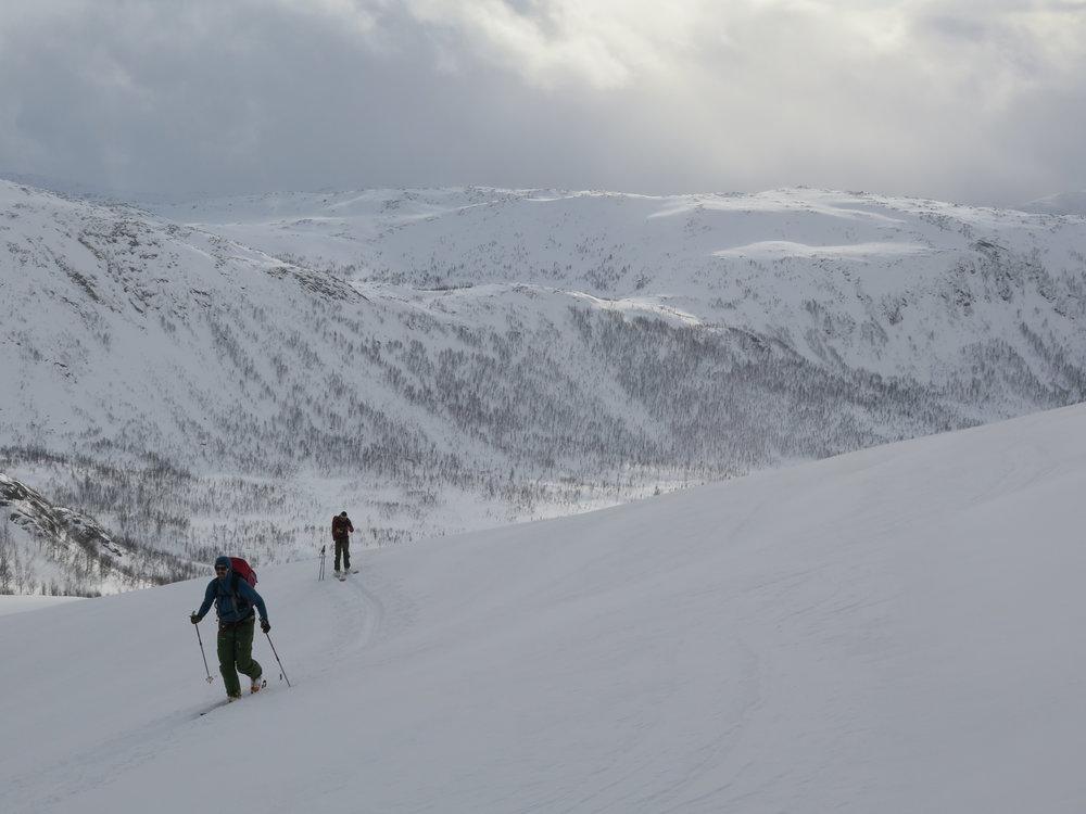 Ski Touring Senja