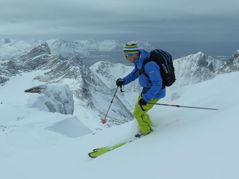 Backcountry Skiing Senja