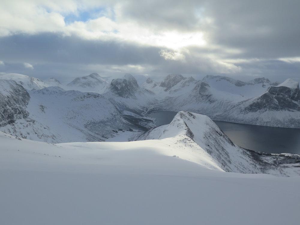 Fjord Skiing Senja