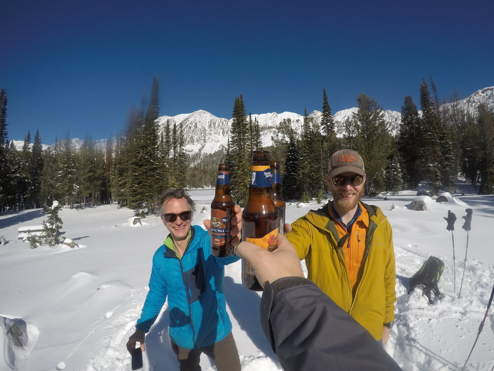 What ski day is complete without a toast to good turns, great friends, and the amazing season yet to come? Salut!