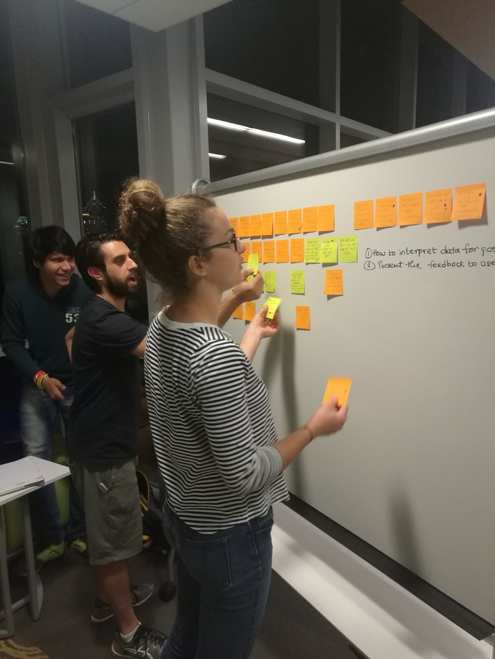 Clustering ideas & identifying themes