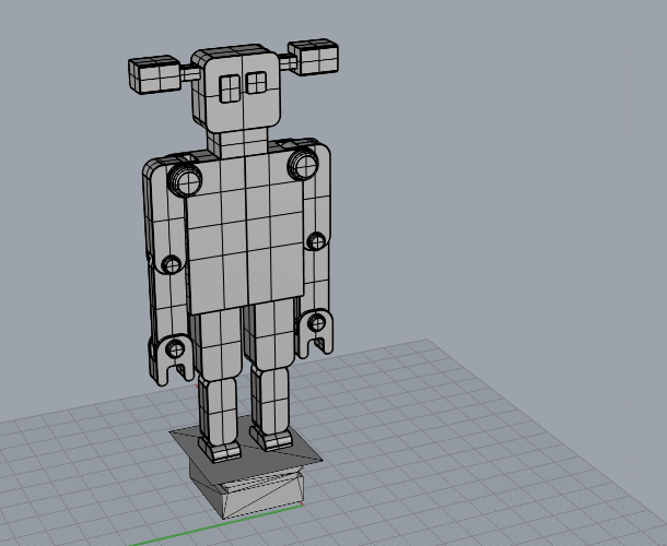 3D Model for the Robot version