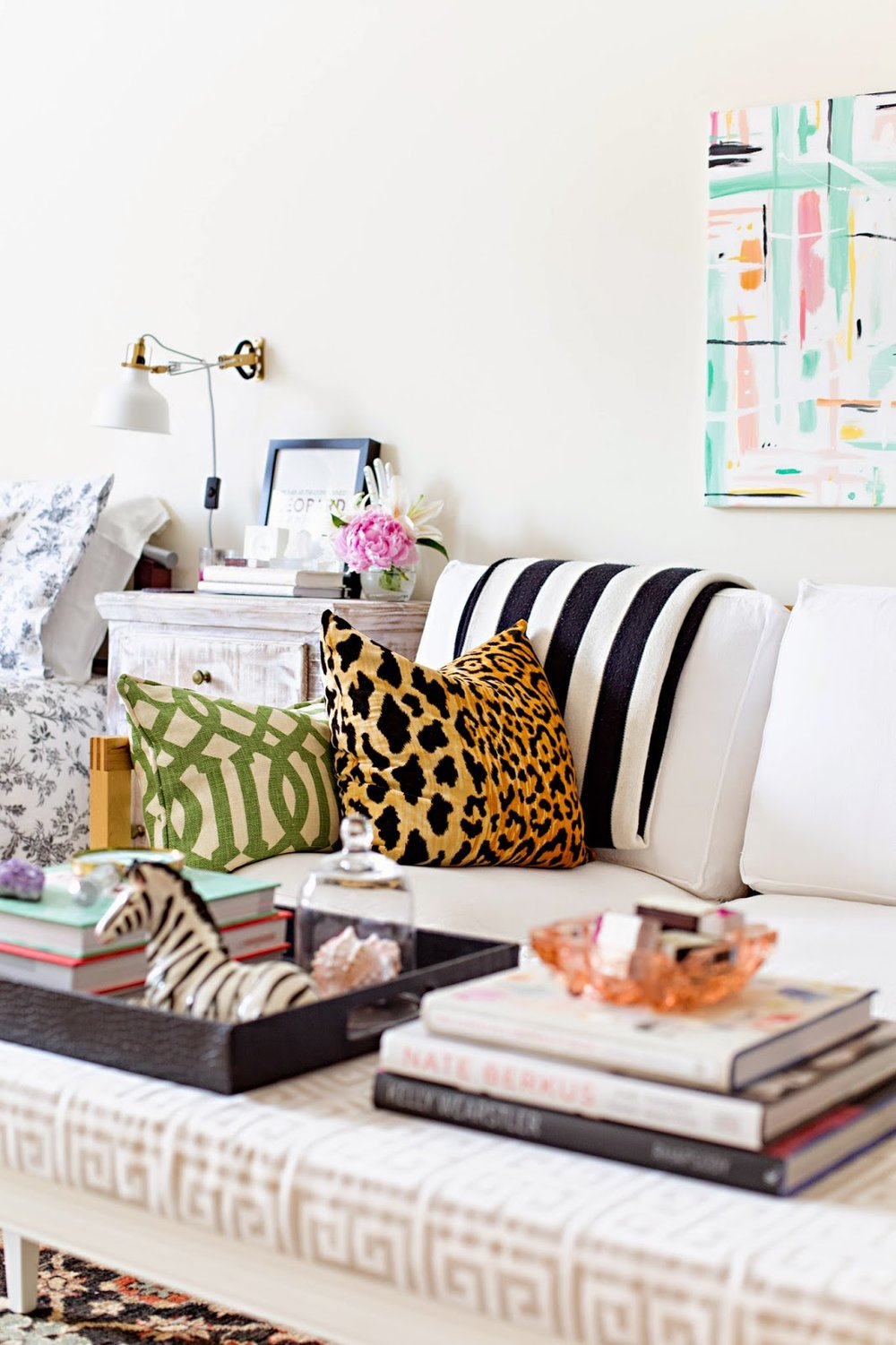 Pictured above: My first apartment, as seen in The Everygirl. Photography by Anna with Love.