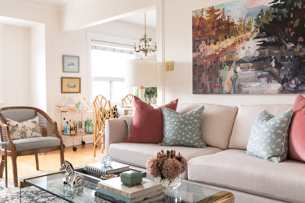 Picture above: My current apartment, as seen on Style Me Pretty Living. Photographed by Mike Caringi for 515 Photography.