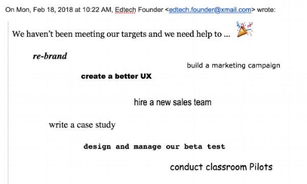 Service Design EdTech Founder