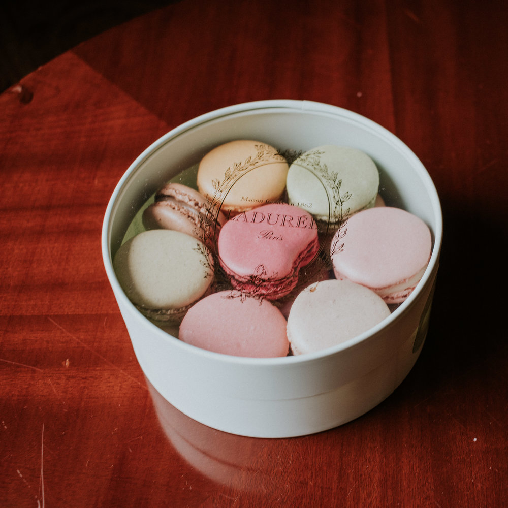Wouldn't be France without French macaroons.