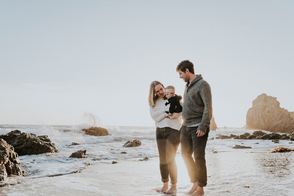 Beach family  session -
