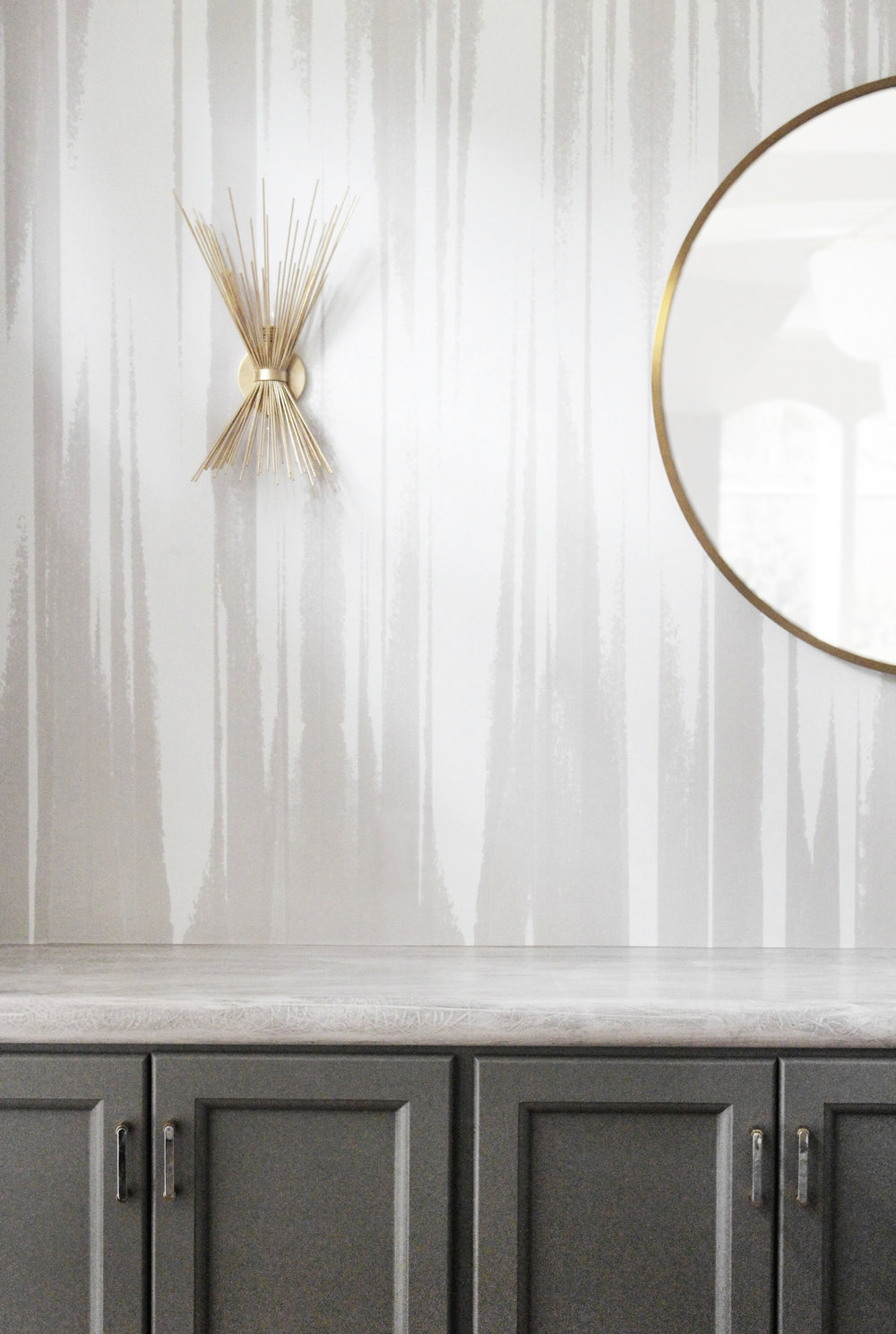FRINGE PRINT IN CUSTOM NEUTRAL Designer: Stone Textile | Photo: Alyssa Rosenheck