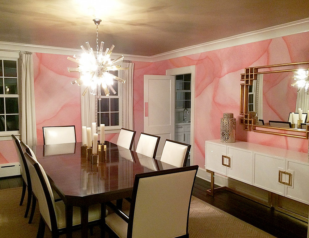 PEACH PASSAL (Custom Color) Designer: Megan Pesce Interiors