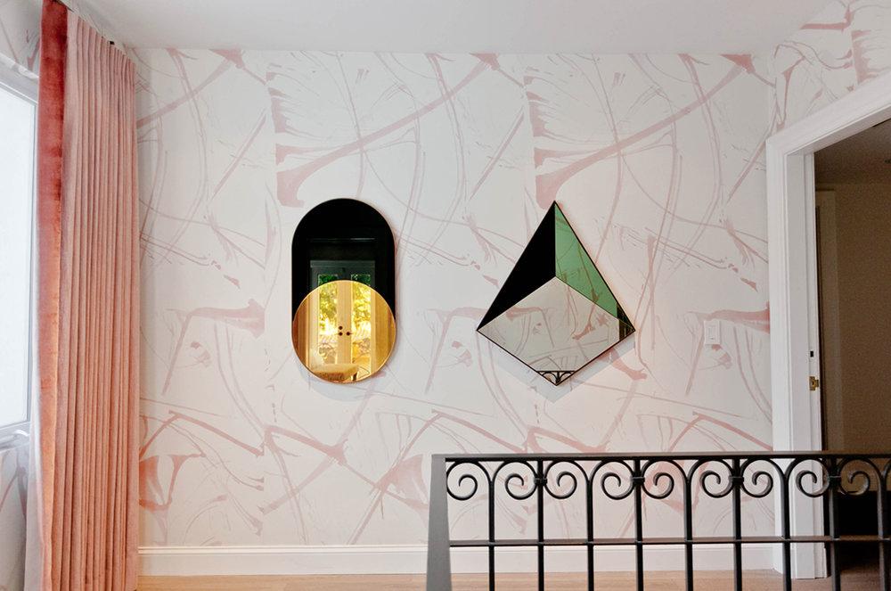 BRUSHSTROKES IN BLUSH Designer: MONIOMI Interior Design