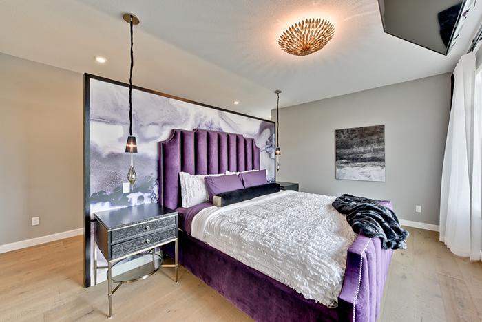 AMETHYST MIST Designer: Marie Hebson for interiorsBYDESIGNinc. Photo: Natasha Dixon Photography
