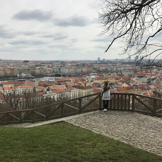 Petrin Park- overlooking the amazing city of Prague