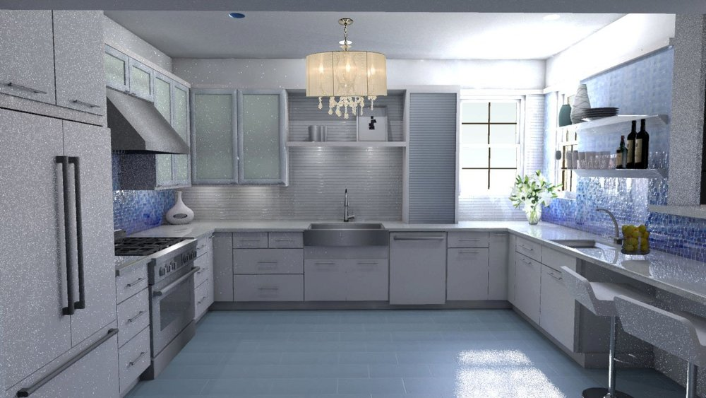 Award Winning Kitchen  Sketch UP - Kraftmaid Kitchen