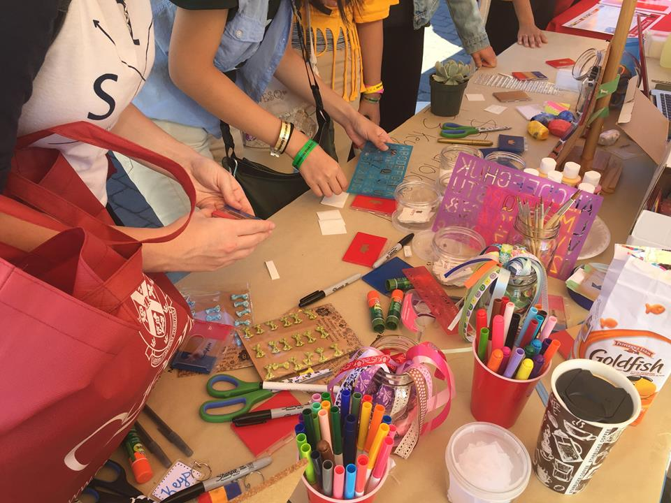 Artisan social business selling crafts made by children living in vulnerable circumstances in Kingston, Canada