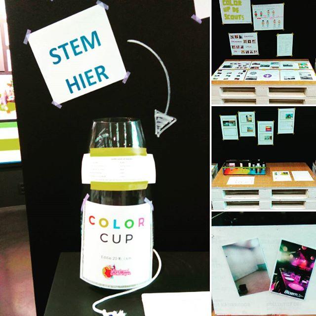 De Colora Color Cup-projecten staan te blinken en wachten op jouw stem!  Stemmen kan t.e.m. 17/02! 🎨 💡 👍👎?