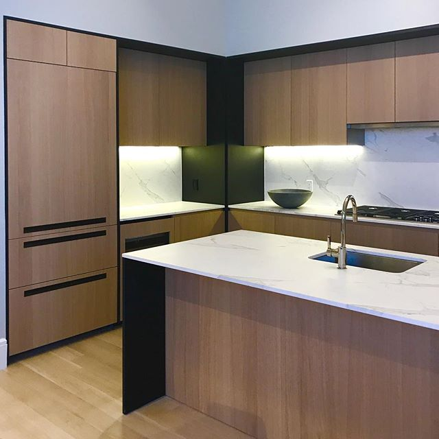 kitchen design for Gramercy Square by @woodsbagot