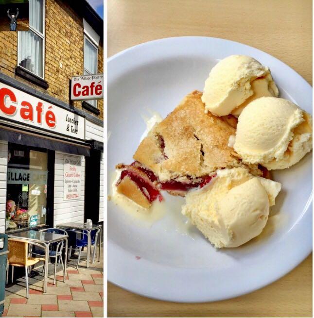 Cherry Pie- Village Cafe, Stanstead St Margarets
