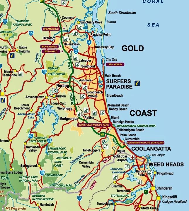 Gold Coast Queensland Globe Hopping With Irma