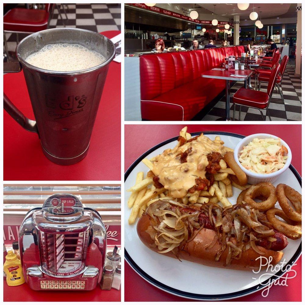 Ed's Diner- American, A1 Motorway, Peterborough