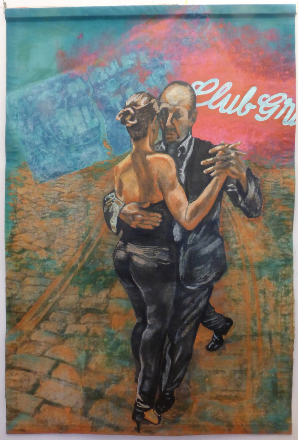 Tango Dancing in the Street