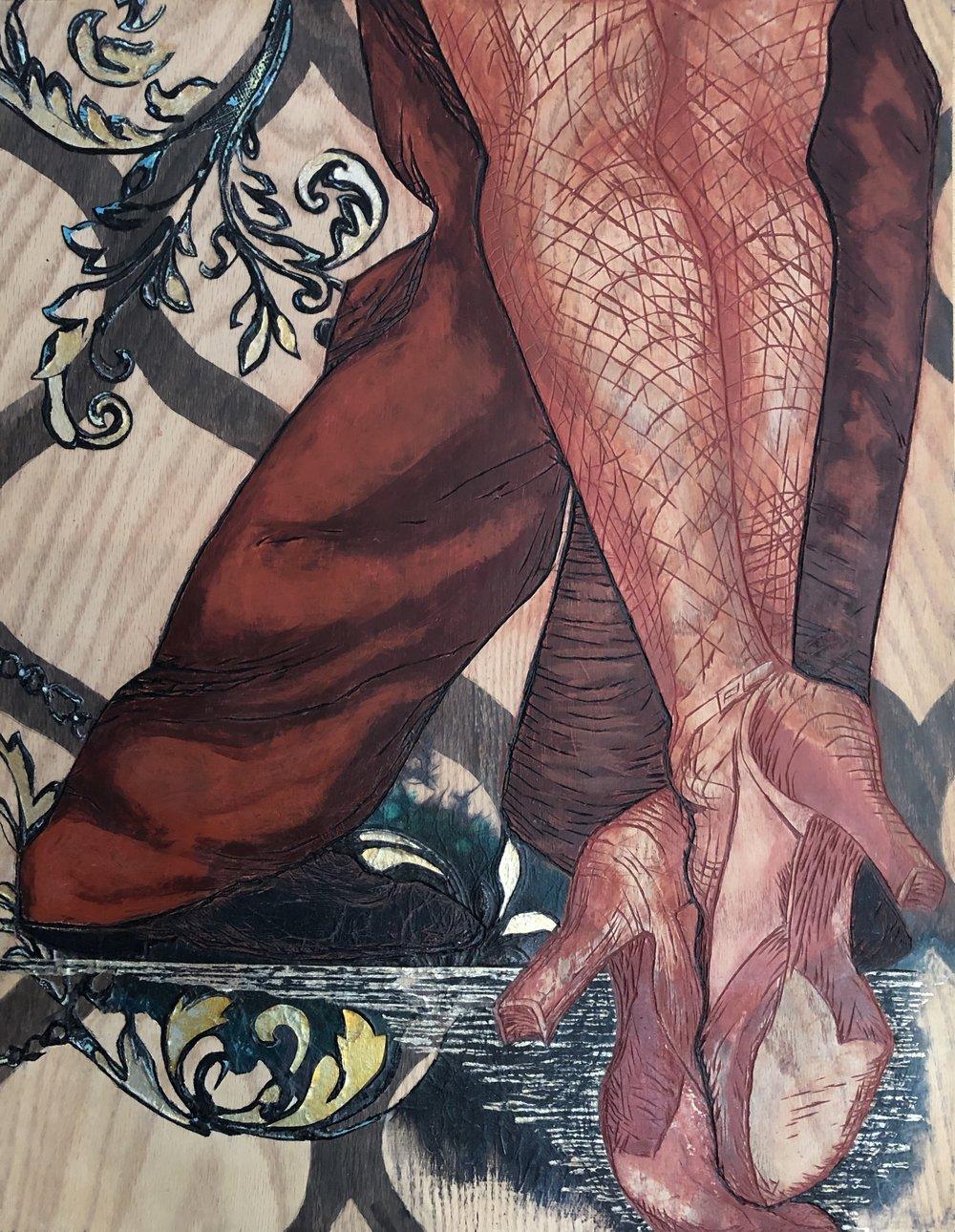 Red Legs II